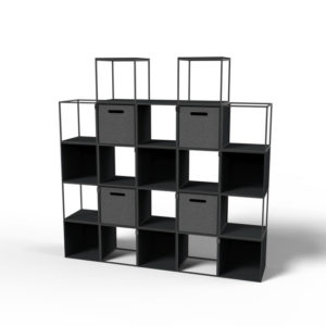 Cage shelving