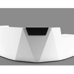 Facet reception desk